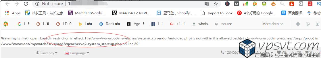 opencart error.png